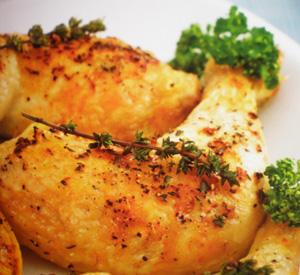 Pollo alla griglia con limone
