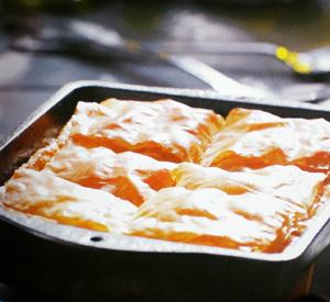 Pasticcio di pollo in pasta fillo