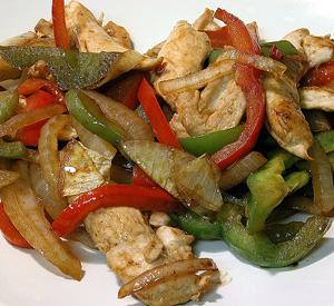 spezzatino pollo e peperoni