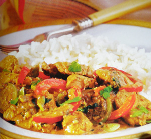Curry rosso di pollo thai