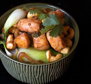 Pollo cinese agli anacardi