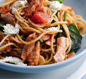 Spaghetti freschi all'italiana