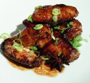 Ali di pollo alla orientale