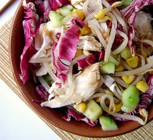 insalata-pollo-radicchio-e-mais