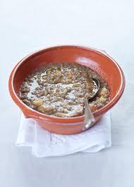 Zuppa di lenticchie con pollo