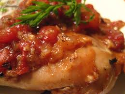 Pollo portoghese al Marsala