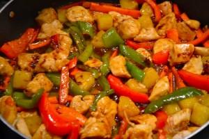Ricetta pollo in agrodolce alla siciliana