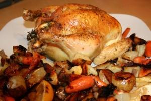 Pollo ripieno di Natale